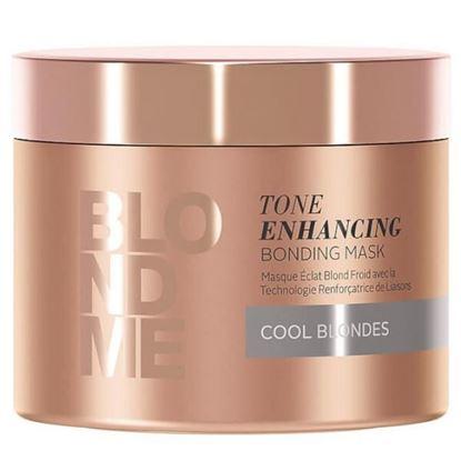 Picture of Schwarzkopf BlondMe Tone Enhancing Bonding Mask For Cool Blondes 200ml